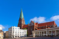 Cathedral Schwerin Royalty Free Stock Photo - 40913435