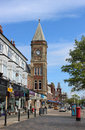 View Along Side Of Lord Street, Southport Royalty Free Stock Photo - 40921975