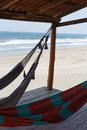 Hammocks In Beach Royalty Free Stock Images - 40927129