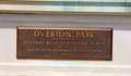 Overton Park Plaque, Memphis Tennessee Royalty Free Stock Photos - 40931678