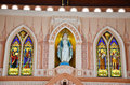 Immaculate Conception Most Beautiful Church In Chanthaburi Stock Photos - 40958813