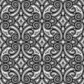 Black And White Swirly Pattern Royalty Free Stock Images - 40963779