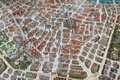 Street Map With Buildings Of Vienna Royalty Free Stock Images - 40980529