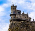 Castle Swallow Nest In Crimea Royalty Free Stock Image - 40988186