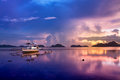 Sunset In El Nido, Palawan - Philippines Stock Photography - 40989702