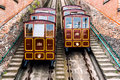 Funicular Railway On The Castle Hill Stock Photography - 40989862