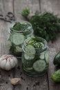 Pickled Cucumbers Stock Images - 40996154
