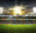 Stadium With Fans Royalty Free Stock Photos - 40998958