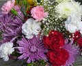 Flowers On Wood Surface Stock Photography - 410172