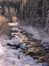 Winter Stream Royalty Free Stock Photos - 417458