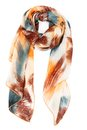 Silk Scarf On A White Background Royalty Free Stock Photos - 41001168