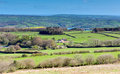 Mendip Hill View From Black Down Highest Point Somerset Stock Photography - 41001812