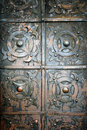 Old Metal And Rusty Door Royalty Free Stock Images - 41003499