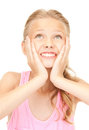 Surprised Girl Royalty Free Stock Images - 41009519