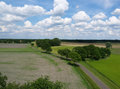 Typical Dutch Landscape Royalty Free Stock Photo - 41021955