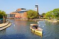 RSC And River Avon, Stratford-upon-Avon. Royalty Free Stock Image - 41025596