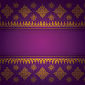 Asian Art Background, Thai Art Pattern Vector. Royalty Free Stock Photography - 41026917
