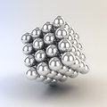 3d Metal Spheres Stock Photos - 41039993