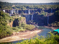 Iguazu Falls In The Dry Season Stock Images - 41046024