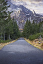 The Road To Morskie Oko Stock Photography - 41050182