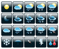 Icons Weather Royalty Free Stock Photography - 41057137