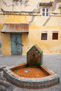 Public Faucet In Old Medina. Tangier, Morocco Royalty Free Stock Photo - 41069715