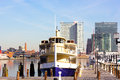 Baltimore, USA - January, 31 2014: Raven Is The Newest Yacht In Watermark Fleet. Royalty Free Stock Images - 41077949