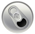 A Topview Of A Beverage Can Royalty Free Stock Images - 41108639