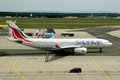 SriLankan Airlines Airbus Royalty Free Stock Photos - 41121698