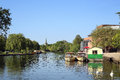 Boats On The River At Stratford-upon-Avon Royalty Free Stock Photography - 41133647