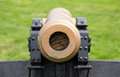 Old Military Cannon Pointing Straight At Viewer Stock Photo - 41134330