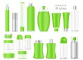 Blank Cosmetic Tubes On White Background Royalty Free Stock Images - 41155719