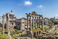 Arch Of Septimius Severus Stock Images - 41157324