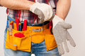 Getting Ready To Work. Stock Image - 41192581