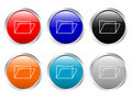 Glossy Buttons Folder Royalty Free Stock Photos - 4128028