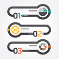 Abstract Infographic Line Template Digital Design Illustration . Stock Photo - 41202080