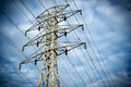 Electric Tranmission Tower Royalty Free Stock Photography - 41222197