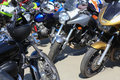 Motorcycles On Parking Royalty Free Stock Photography - 41235847