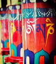 Buddhist Prayer Wheels Royalty Free Stock Photography - 41241117