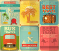 Travel Posters Set Royalty Free Stock Photography - 41242507