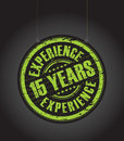 Fifth Teen Years Experience Stamp Stock Photos - 41246073