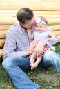 Father And Daughter Royalty Free Stock Photo - 41249355