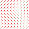 Seamless Pattern With Dots And Cherries Stock Images - 41260594