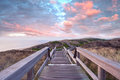 Footpath Through Dunes Stock Images - 41263974
