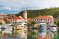 Skradin Is A Small Historic Town In Croatia Royalty Free Stock Image - 41266806
