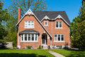 Red Brick House Royalty Free Stock Photography - 41282517