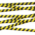 Black And Yellow Danger Tape Stock Photos - 41296773