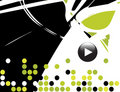 Musical Theme Background Royalty Free Stock Image - 4131866