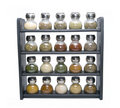 Spice Rack Isolated Stock Images - 4134944