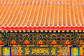 Roof Of Chinese Temple Stock Images - 41320684